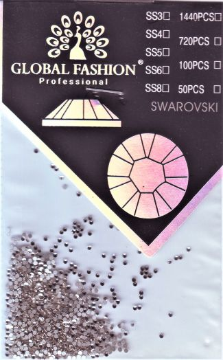 Стразы Глобал Фэшн кристалл SS3 1440 шт