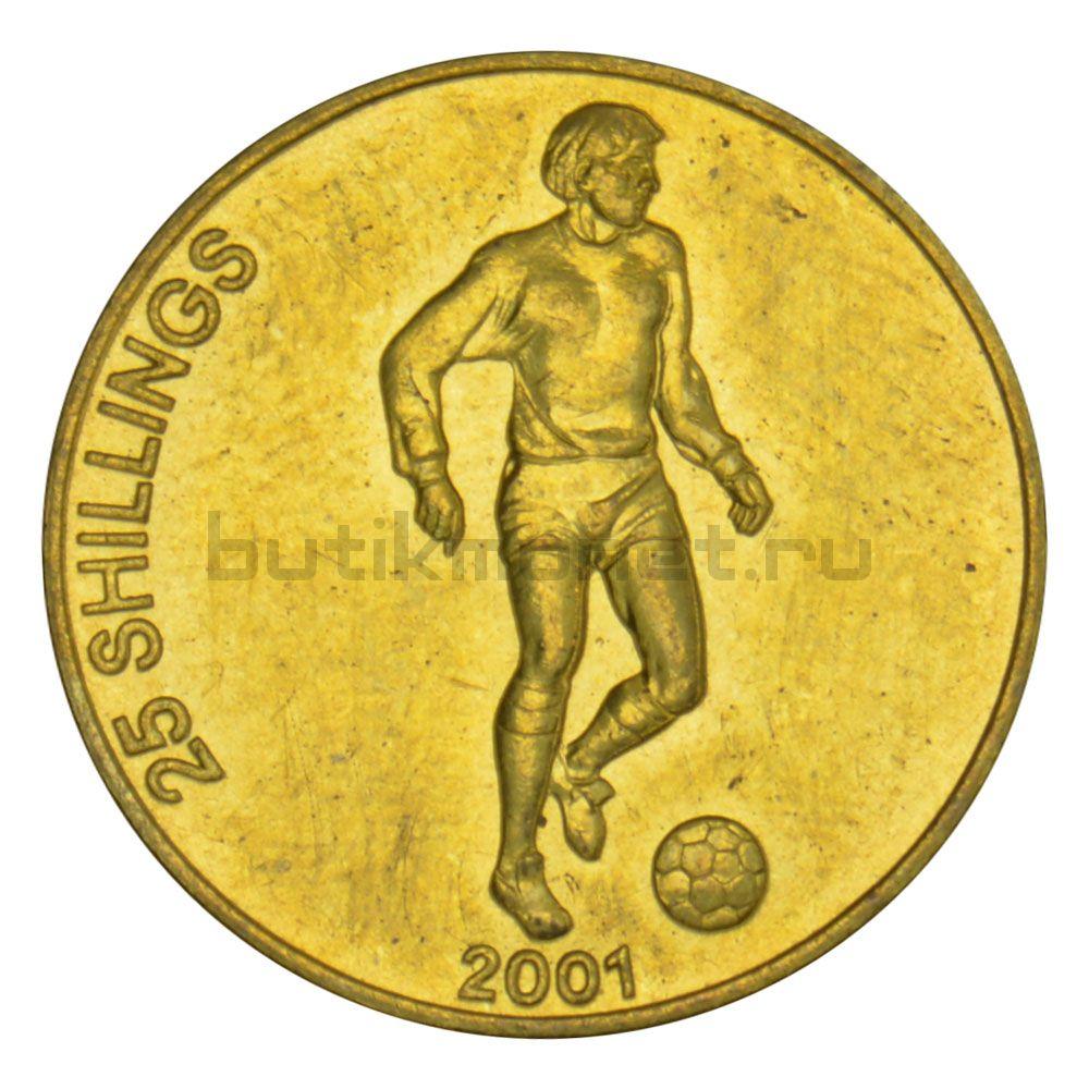25 шиллингов 2001 Сомали Футболист