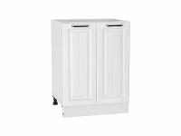 Шкаф нижний с 2-мя дверцами Прага Н600 в цвете Белое дерево