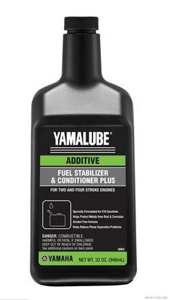 Присадка к Топливу Yamalube ACCFSTABPL12 (Стабилизатор и Кондиционер) (355 мл)