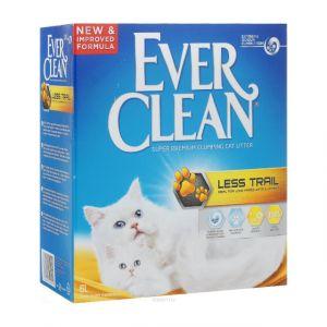 Наполнитель Ever Clean комкующийсядля длинношерстных кошек, Less Trail 10л