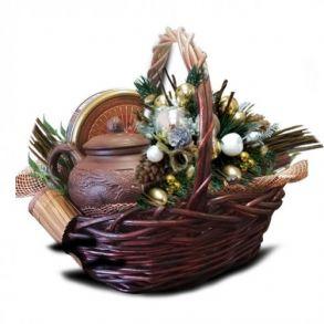 Подарочная корзина Бамбук Новогодний