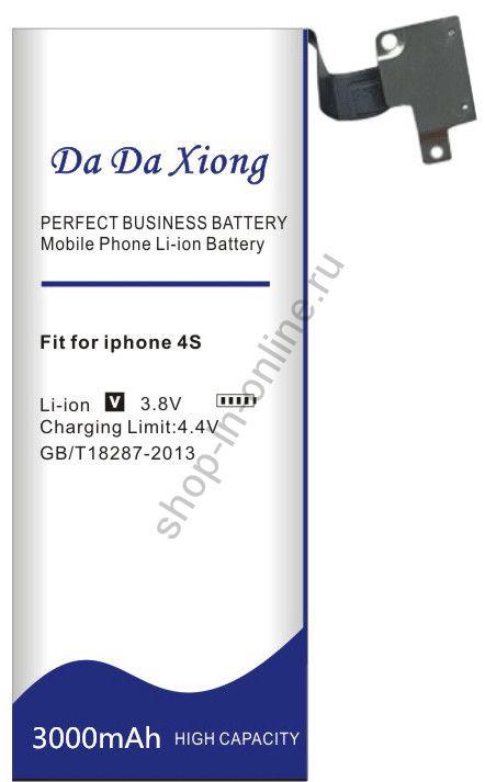 Аккумулятор Apple IPhone 4S 3000 мАч Япония