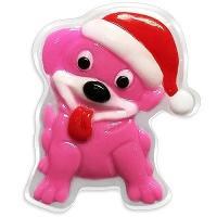 Liss Kroully Skin Juice Подарочное мыло туалетное фигурное Розовая собака