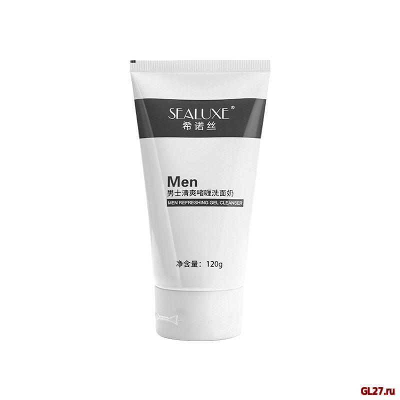 SEALUXE Освежающий гель для очистки лица для мужчин