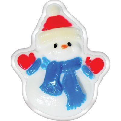 Liss Kroully Skin Juice Подарочное мыло туалетное фигурное Снеговик в наушниках