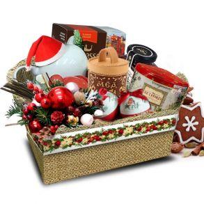 Подарочный набор  Новогодний туесок