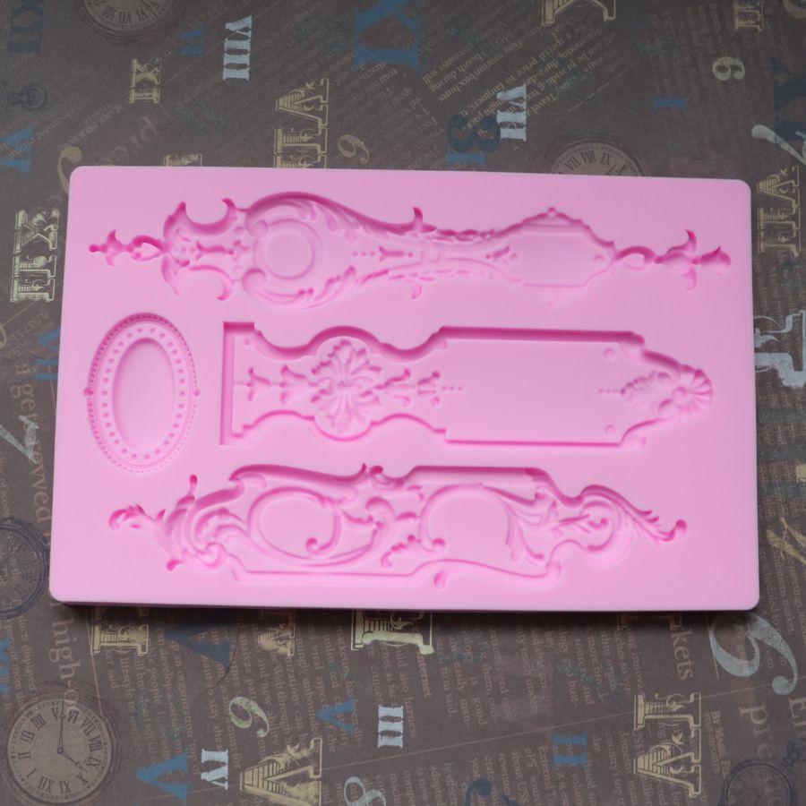 Молд силиконовый фигурные накладки