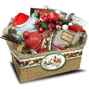 Подарочный набор «Туесок Санта»