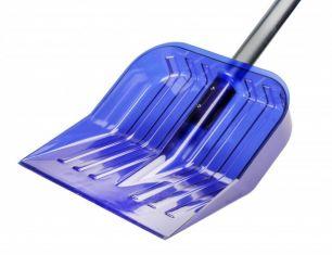 Лопата снеговая поликарбонат синяя 430х420 Альтернатива