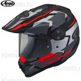 Шлем Arai Tour-X4 Depart, Серый с красным