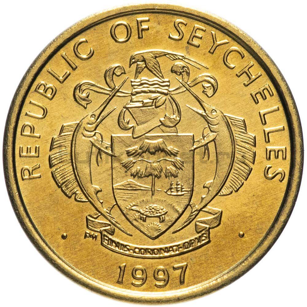 10 центов 1997 Сейшелы