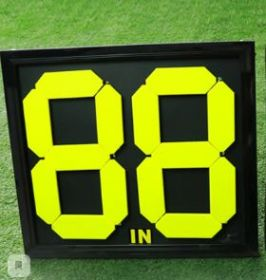 Табло футбольное механическое замены игрока 2 цифры