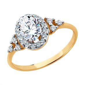 Кольцо из золота 81010468 SOKOLOV