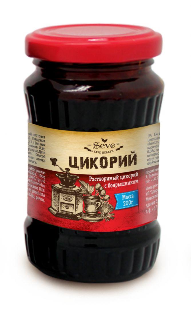 ЦИКОРИЙ жидкий с боярышником, 200 гр