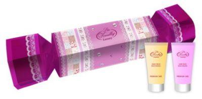 Liss Kroully Luxury Парфюмерно-косметический подарочный набор NP-1904 Конфета Крем для рук увлажняющий 50 мл + Маска для рук увлажняющая 50 мл