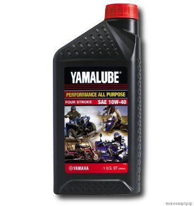Yamalube 10W-40, 4-тактное минеральное Performance Mineral Oil (0,946 л) LUB10W40AP12