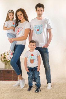 """Футболки """"Росточек"""" Family Look(жен,муж,детск)"""