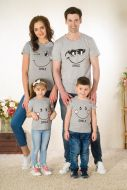 """Футболки """"Смайлик"""" Family Look(жен,муж,детск)"""