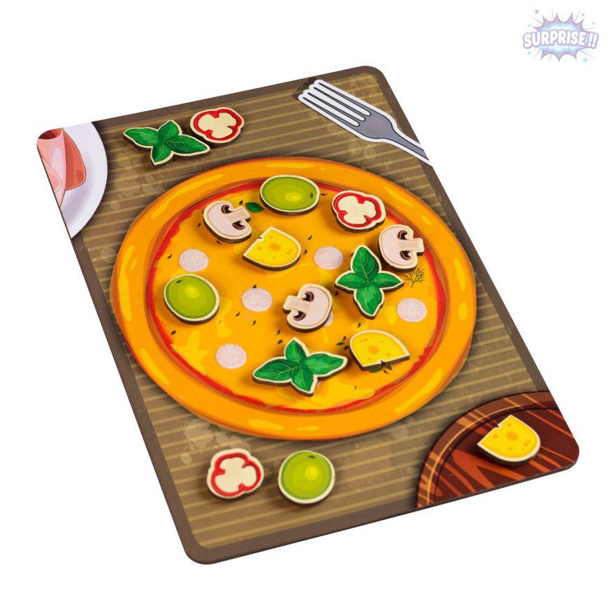 Игра-Липучка пицца грибная