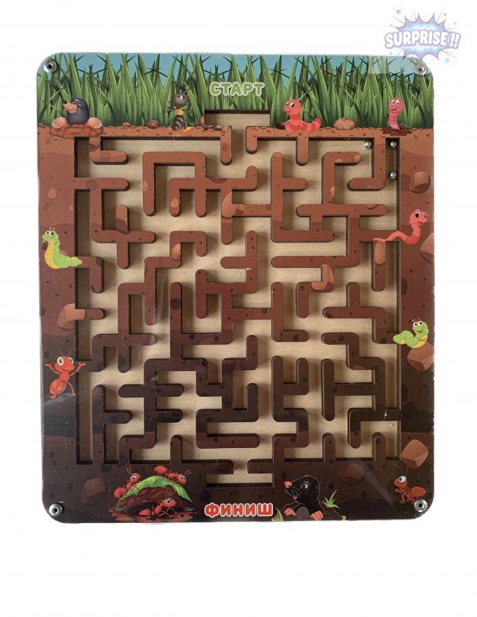 Лабиринт с шариком подземный мир