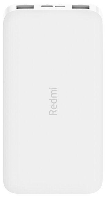 Универсальный внешний аккумулятор (Power Bank) Xiaomi Redmi Power Bank 10000 (10000 mAh) (white)
