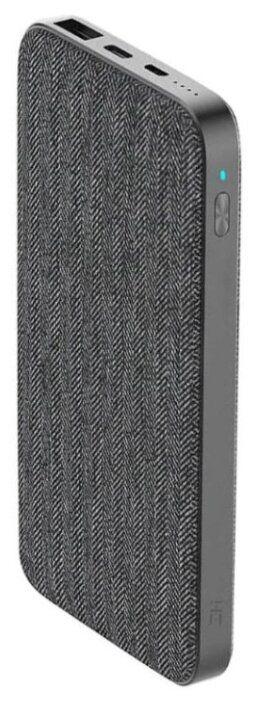 Универсальный внешний аккумулятор (Power Bank) Xiaomi ZMI Power Bank QB910 (10000 mAh) (grey)