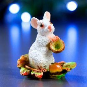 """Форма силиконовая для мыла и свечей """"Мышка Джуди """"  6х4х6,5см"""