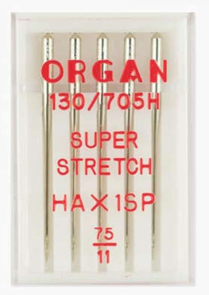Иглы ORGAN супер стрейч №75 (5шт.)