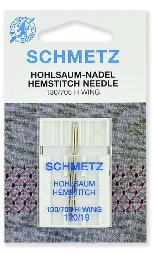 Иглы Schmetz для мережки №120 (1шт.)