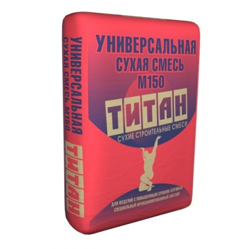 Универсальная сухая смесь Титан M150, 40 кг