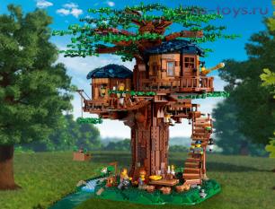Конструктор Lari Идея Дом на дереве 11364 (21318) 3056 дет