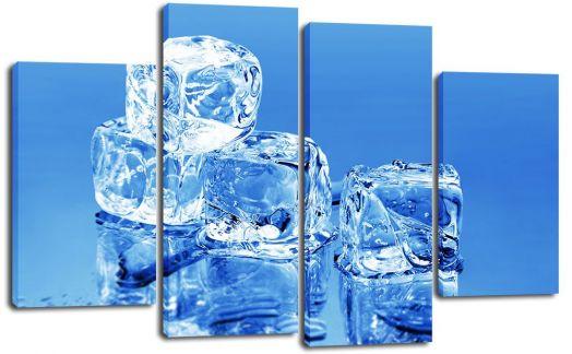 Модульная картина Кубики льда