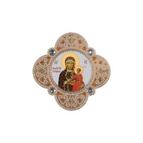 Nova Sloboda РВ3313 Богородица Ченстоховская набор для креативной вышивки купить оптом в магазине Золотая Игла