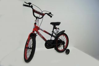 Детский велосипед RIVERBIKE-F-16-RED-BLACK