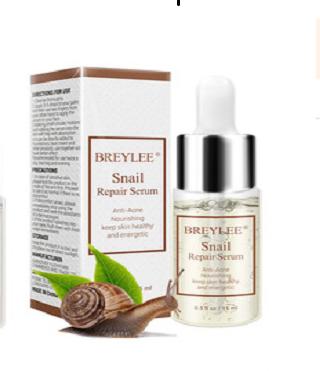 Восстанавливающая сыворотка Breylee Snail Repairing Serum Anti-Acne с муцином улитки.(4319)