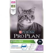 Pro Plan Sterilized 7+ Для пожилых кастрированных котов и стерилизованных кошек (400 г)