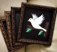 Картина для появления голубя (Сделано в России)