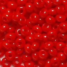 Бисер чешский 93170 непрозрачный красный Preciosa 1 сорт