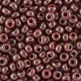 Бисер чешский 93195 непрозрачный бордовый блестящий Preciosa 1 сорт