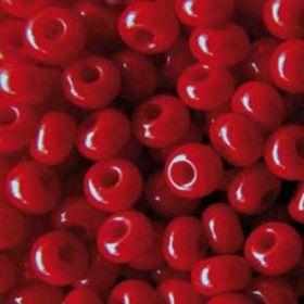 Бисер чешский 93210 непрозрачный вишневый Preciosa 1 сорт купить оптом