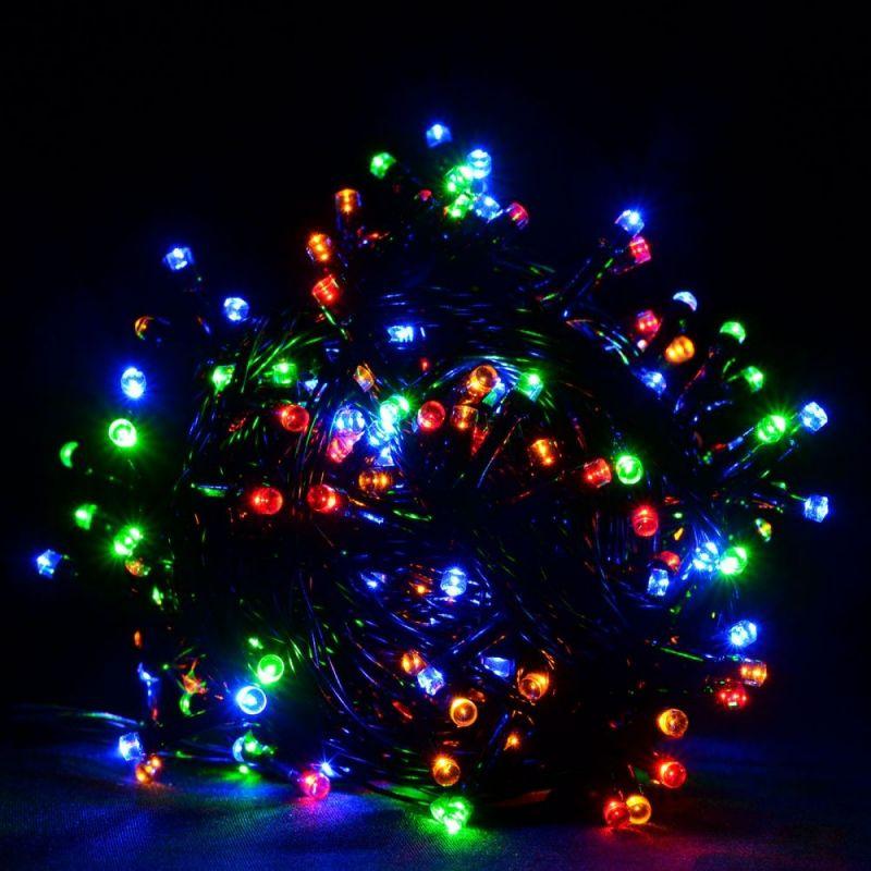 Светодиодная Гирлянда 320 LED 5 м, Цвет Свечения Разноцветный