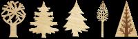 Новогодняя игрушка дерево
