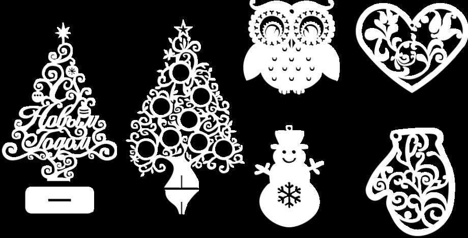 Новогодняя игрушка или елочка