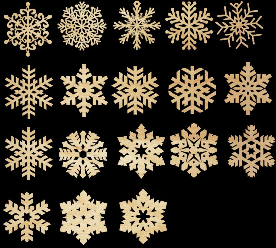 Новогодняя игрушка снежинка деревянная