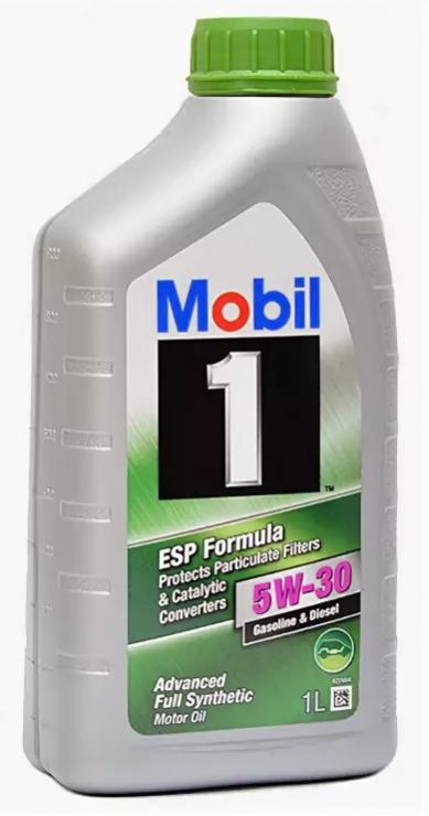 Моторное масло Mobil 1 5W30 ESP Formula 1 л
