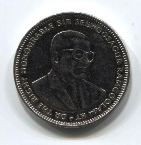 1 рупия 2012 года Маврикий