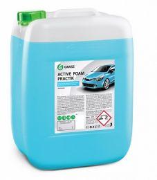 Бесконтактный шампунь Grass Active Foam Practik для жесткой воды (20кг) цена, купить в Челябинске/Автохимия и автокосметика
