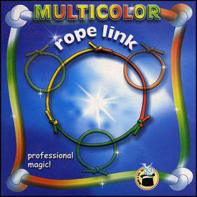 Multicolored Rope Link by Vincenzo Di Fatta