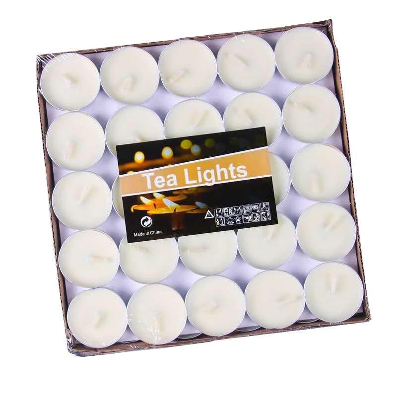 Свечи Чайные 100 шт Цвет Белый